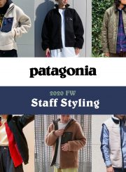 Vol. 105【TOPICS】20FW patagonia styling