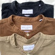 【 MANUAL ALPHABET 】CORUROY LOOSEFIT B/C SHIRTS
