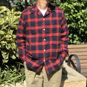 BAMBOO SHOOTS【PLAID FLANNEL CAMP COLLAR SHITS】