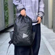 【and wander】SIL DAYPACK