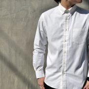 【MXP】LONG SLEEVE STANDARD OXFORD BD SHIRT